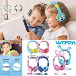 Mpow 85db Safe Kids Child Over-Ear DJ Headphones Wired Heads
