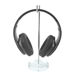 Geekria EJJ-0012-01 Acrylic Aluminum Headphone Stand Display