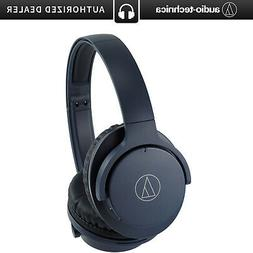 Audio-Technica ATH-ANC500BTNV QuietPoint Bluetooth Noise-Can
