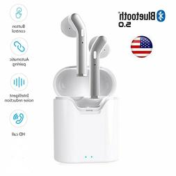 Bluetooth 5.0 Earbuds Headphones Wireless Headset Noise Canc