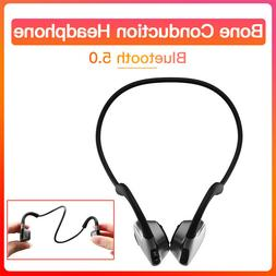 Bone Conduction Earphone Bluetooth Sports Smart Headset For