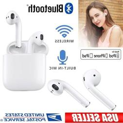 Dual Wireless Bluetooth Headphones with Charging Case Earbud