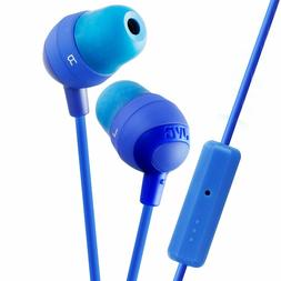 HAFR37A Marshmallow Headphones with Mic, Blue