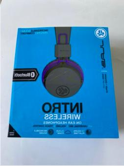 JLab Intro Bluetooth Wireless On-Ear Headphones with Univers
