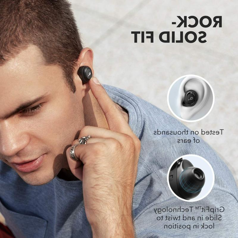 2019 Upgraded, Liberty Neo Earbuds, Pumping Bass,
