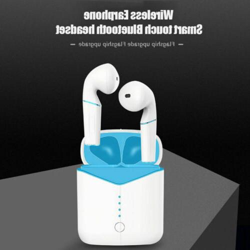 airpods wireless bluetooth headphones earbuds for apple