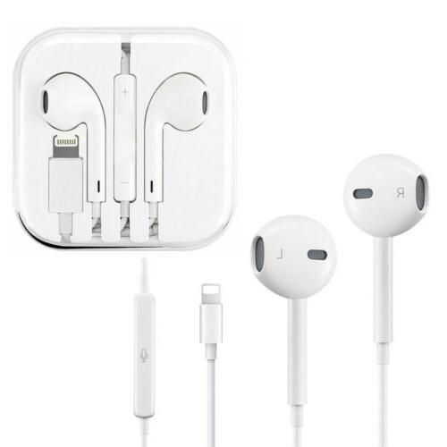 For Apple iPhone X XS MAX XR 7 8 P Bluetooth Wired Earbuds