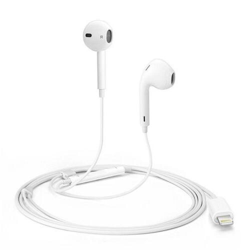 For Apple iPhone X XS XR 7 8 Bluetooth Wired Earbuds