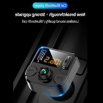 Bluetooth MP3 Hands free Radio Adapter Charger