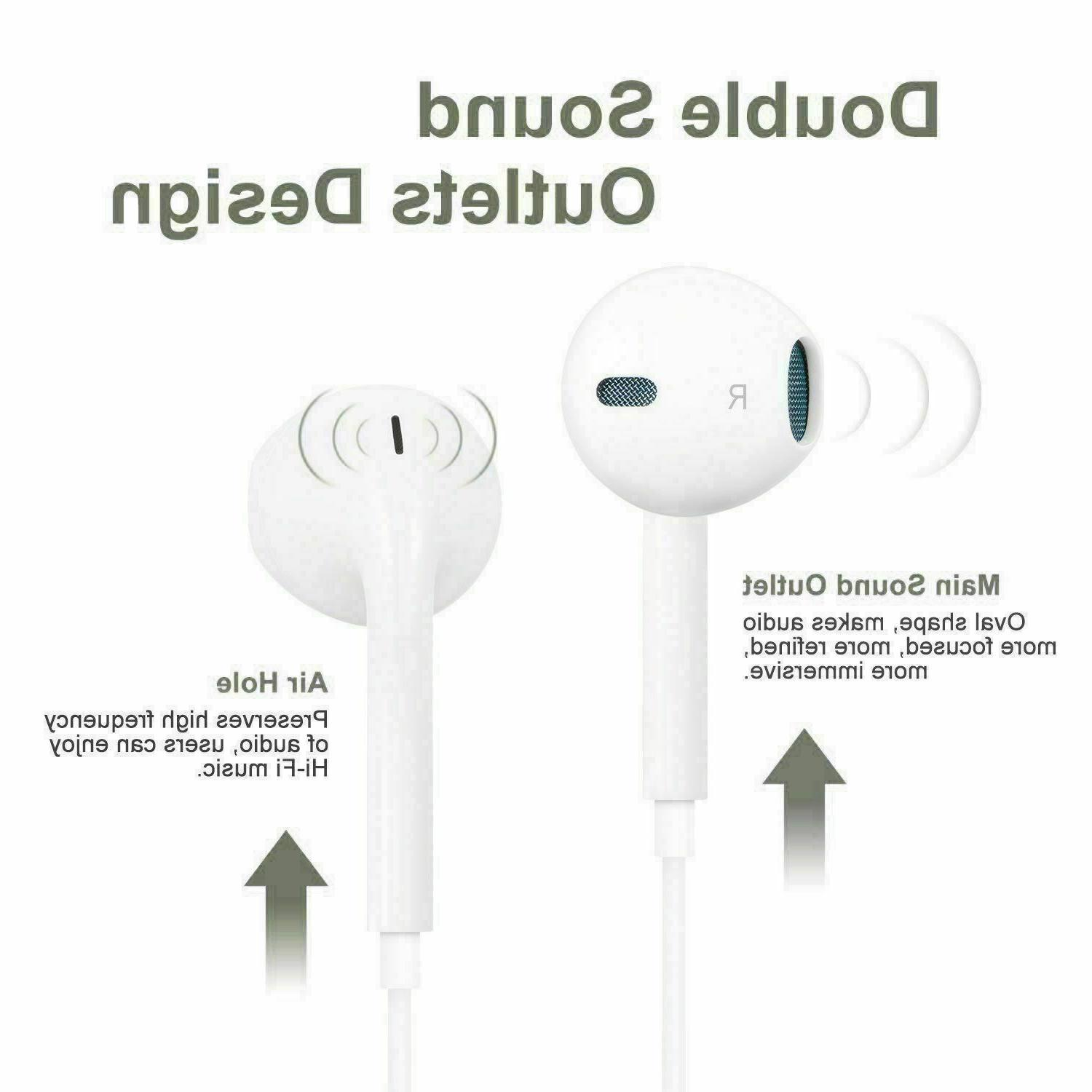 OEM Headphones Earbuds Headsets For iPhone 6 X