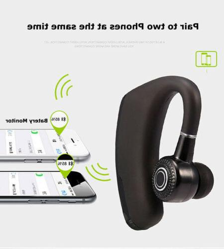 Bluetooth Headset Wireless Mic FOR GALAXY Note 9 S9