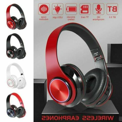 Bluetooth Headphones Stereo With Mic