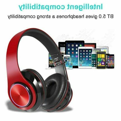 Bluetooth Wireless Stereo Cancelling Headset With