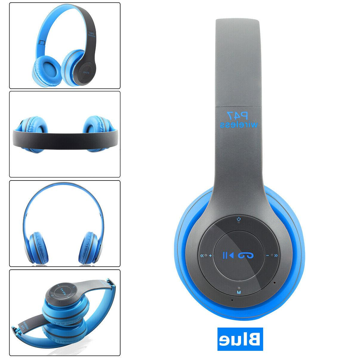 Bluetooth On Ear Foldable Stereo Noise Cancelling