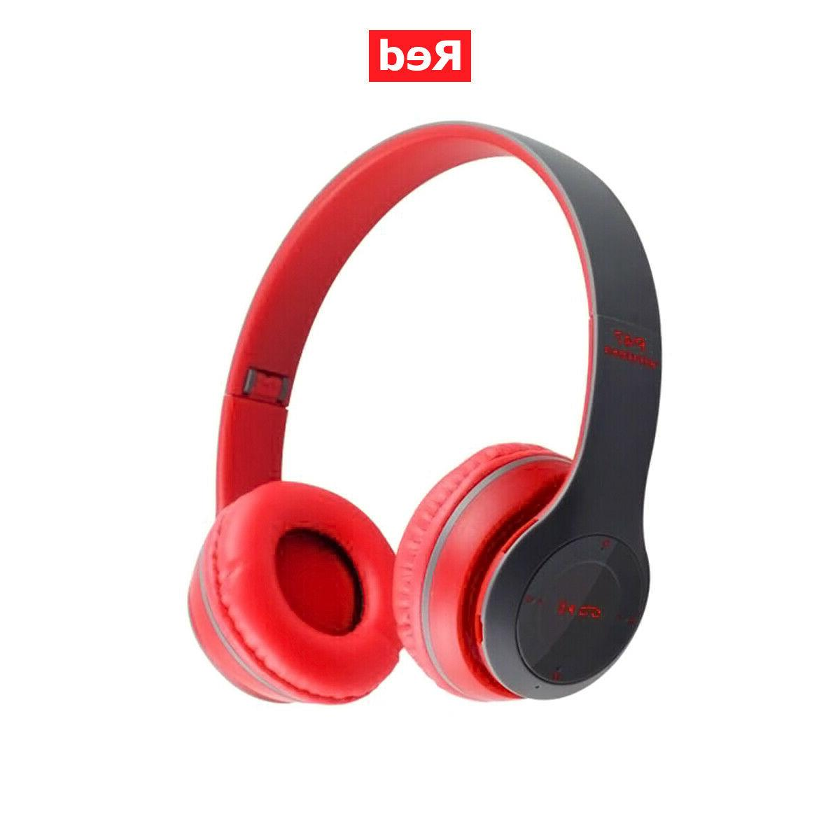 Bluetooth Wireless Ear Foldable Cancelling Headset
