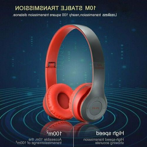 Bluetooth Ear Foldable Cancelling Headset