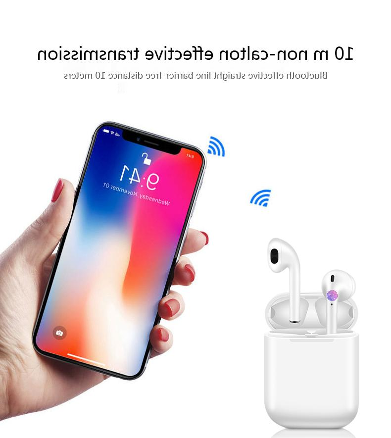i12 Bluetooth 5.0 Earphones Earbuds For