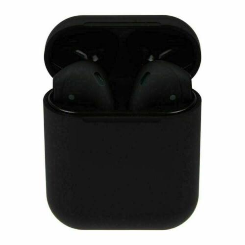 new black for apple pods style tws
