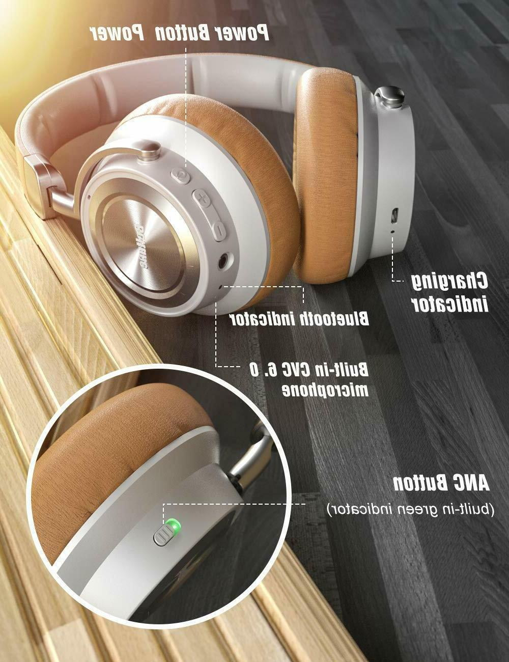 Noise Cancelling Headphones with Microphon