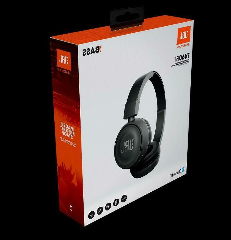 JBL T460BT Bluetooth Headphones with Pure