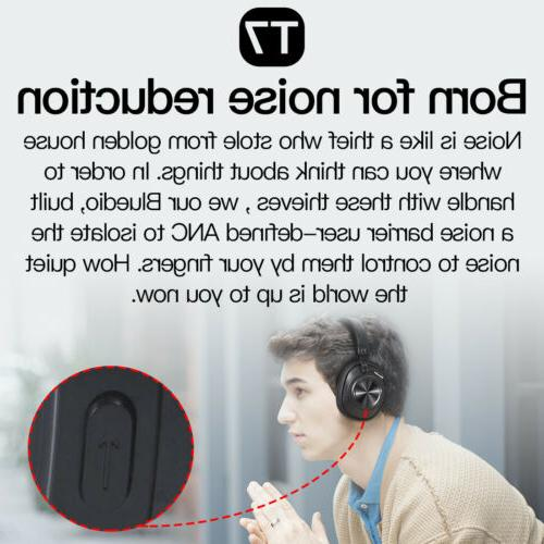 Bluedio T7 Bluetooth ANC Headphone Wireless face recognition stereo