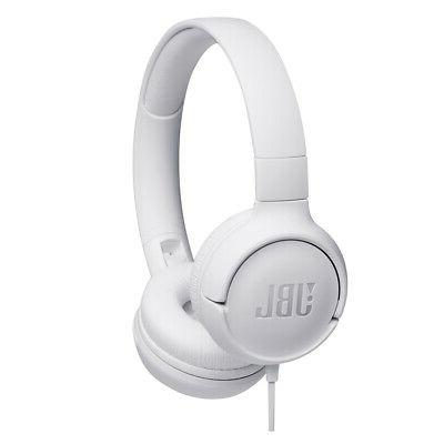 tune500 wired on ear headphones with one