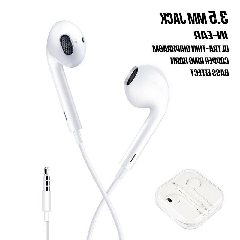 Wired Earbuds Headset Headphones For iPhone 7 XS 11 Gift
