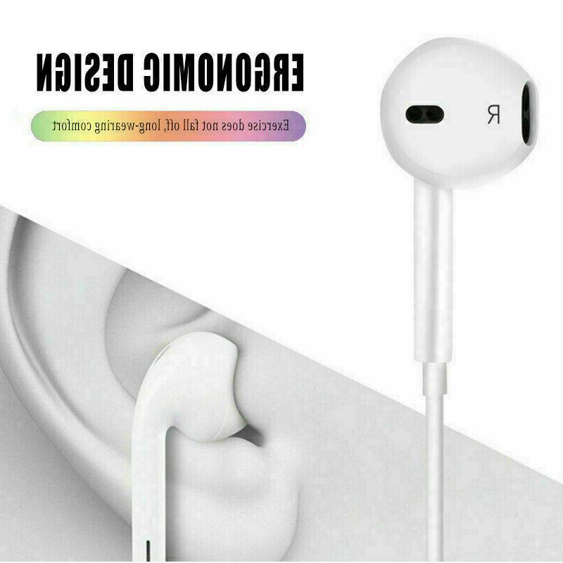Wired Headset For 5 7 Plus XS MAX XR SE