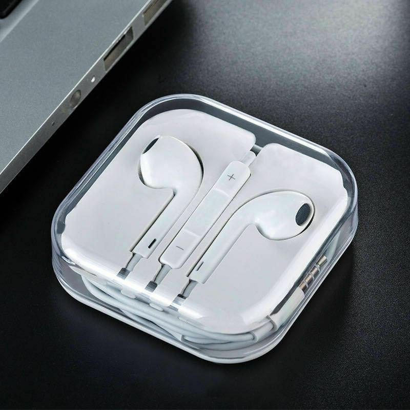 Wired Headset For iPhone 7 8 X XS MAX SE