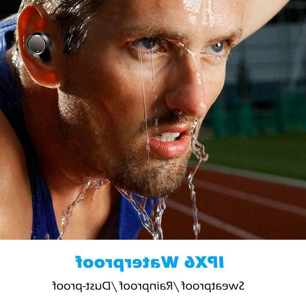 Wireless Waterproof Headset With Charging