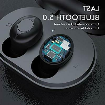 Wireless Earbuds, Comeproof Bluetooth Earbuds Bass Stereo 24H