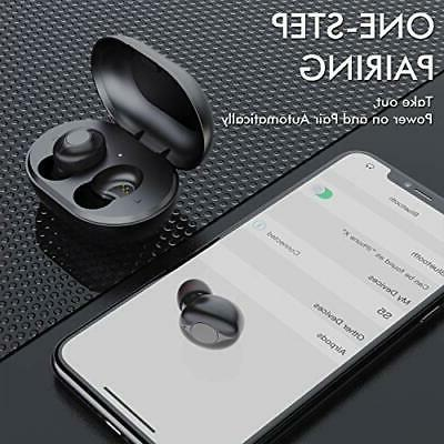 Wireless Earbuds, Comeproof Bluetooth Earbuds Deep Bass Stereo Sound 24H Pl