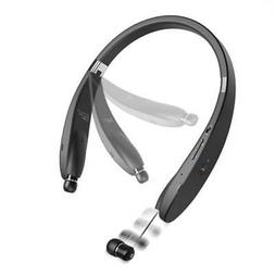 NECKBAND HIFI SOUND WIRELESS HEADSET W RETRACTING O1O for AT
