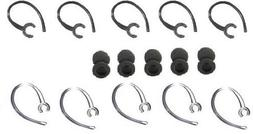 EarHook/Foam Bud Compatible Replacement Parts, 20 Pcs for Sa