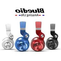 Bluedio T2+ Stero earphones Wireless Bluetooth Fordable Head