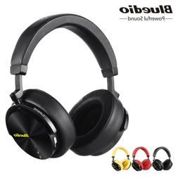 Bluedio T5S Bluetooth  Headphones Wireless Noise Cancelling