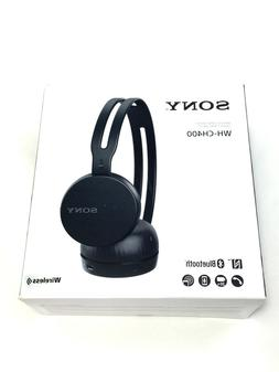 Sony WH-CH400 Wireless Bluetooth Headband Headphones w/Micro