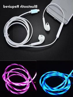 Wired Bluetooth Earphones Headphones For iPhone 8 7 Plus X X