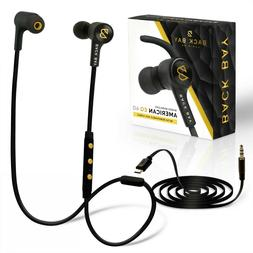 AUKEY Wired Earbuds Noise-Canceling in-Ear Wired Headphones