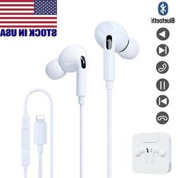 Wired Headphones Headset For iPhone 6 7 8 Plus X XS MAX XR 1