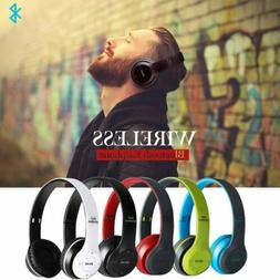 Wireless Bluetooth Headphones Noise Cancelling Hands:free He